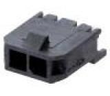 Zásuvka kabel-pl.spoj vidlice 3mm PIN:2 Glow-Wire pocínovaný