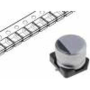 Kondenzátor elektrolytický s nízkou impedancí SMD 10uF 35V