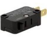 Mikrospínač bez páčky SPDT 15A/250VAC 0,6A/125VDC ON-(ON)