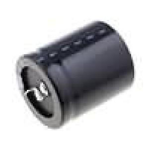 Kondenzátor elektrolytický SNAP-IN 820uF 200V Ø25x45mm ±20%