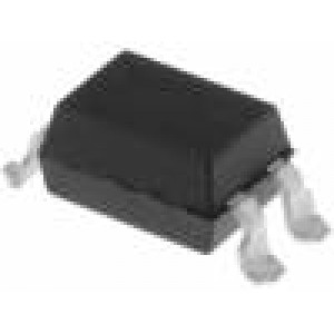 Optočlen SMD Kanály:1 Výst tranzistorový Uizol:5,3kV Uce:55V