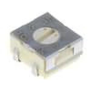 Potenciometr montážní - trimr jednootáčkový ležatý 10kΩ 250mW SMD