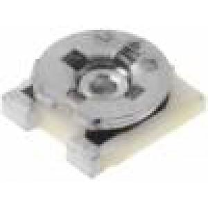 Potenciometr montážní - trimr jednootáčkový ležatý 100kΩ 200mW SMD