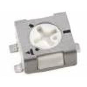Potenciometr montážní - trimr jednootáčkový 200Ω 250mW SMD ±20%