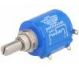 Potenciometr axiální 1kΩ 2W ±3% 6,35mm lineární drátový IP65