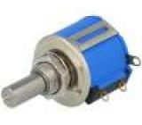 Potenciometr axiální víceotáčkový 2kΩ 2W ±5% 6,35mm lineární