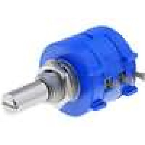 Potenciometr axiální víceotáčkový 10kΩ 2W ±5% 6mm lineární