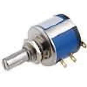 Potenciometr axiální jednootáčkový 100kΩ 2W ±5% 6,35mm
