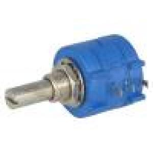Potenciometr axiální víceotáčkový 1kΩ 2W ±5% 6,35mm lineární