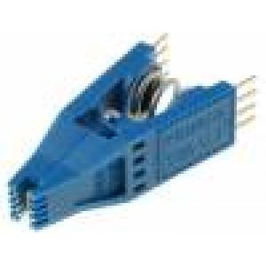 Měřicí násuvná sonda SOIC 8 PIN modrá zlacený