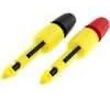 Měřicí hrot s háčkem propichovací 1A 70VDC černá a červená