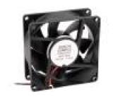 Ventilátor DC axiální 12VDC 80x80x32mm 100,2m3/h 45,2dBA