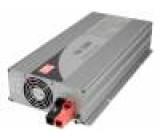 Měnič DC/AC 1500W Uvýst:230VAC 21-30VDC 420x220x88mm 91% 75A