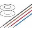 Kabel H05V2-K licna Cu 0,75mm2 PVC červená 300/500V
