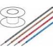 Kabel H05V2-K licna Cu 10mm2 PVC červená 450/700V