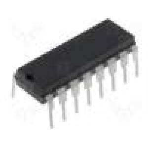 CD4026BE IC číslicový decade counter, divider CMOS DIP16