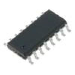 74HC4052D.652 IC číslicový demultiplexer/multiplexer Kanály:2 SO16