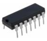 HEF4016BP.652 IC číslicový multiplexer, switch Kanály:4 CMOS DIP14