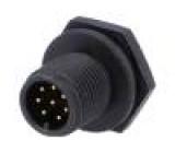 Konektor M12 zásuvka vidlice 8 PIN pájení IP68 30V 5A