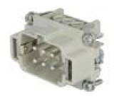 Konektor heavy|mate Pouz velikost E6 Řada C146 vidlice 400V