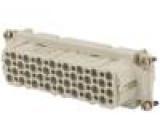 Konektor hranatý Pouz velikost E24 Řada výr C146 zásuvka
