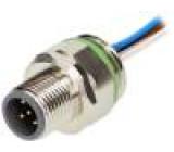 Konektor M12 zásuvka vidlice 5 PIN vodiče 0,5m