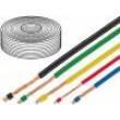 Kabel LifY licna Cu 0,1mm2 PVC hnědá 100m