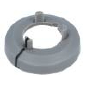 Nut cover with pointer ABS grey push-in Ø:17.5mm