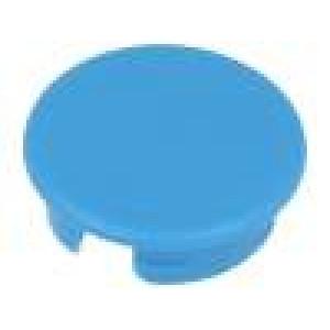 Víčko ABS modrá zatlačované Určení: A2513,A2613 Tvar: kulatý