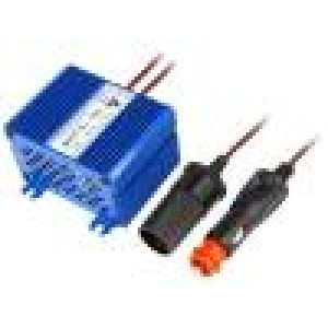 Zdrojměnič napětí Uvýst max:13,8VDC 12A Unap:15÷30VDC 85%