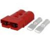 Zástrčka vodič-vodič hermafroditní PIN:2 na kabel krimpovací