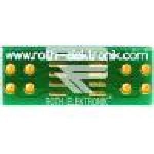 Plošný spoj univerzální multiadaptér W:20,5mm L:8mm SO8