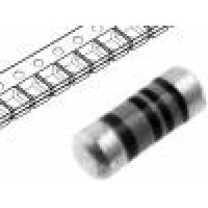 Rezistor uhlíkový SMD 0204 minimelf 220Ω 0,25W ±1%