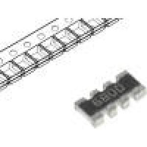 Rezistorová síť: Y 680Ω SMD 1206 Poč.rezistorů:4 ±1%