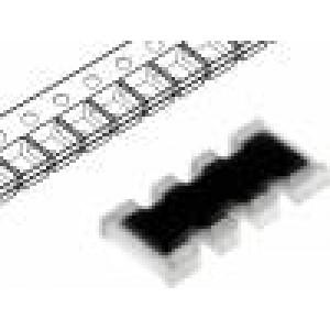 Rezistorová síť: Y 1MΩ SMD 1206 Poč.rezistorů:4 0,063W ±5%
