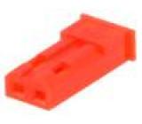 Zástrčka vodič-vodič zásuvka PIN:2 bez kontaktů 2,5mm RCY