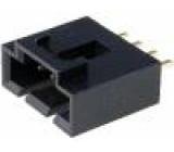 Zásuvka kabel-pl.spoj vidlice 4 PIN 2,54mm THT 2,5A 20mΩ