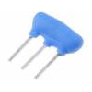 Rezonátor keramický 4MHz THT 2,5mm Tepl.stab: ±0,3 % ±0,5%