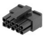 Zástrčka kabel-pl.spoj zásuvka 10 PINbez kontaktů 3mm MF30