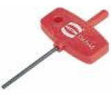 Šroubovák imbusový Imbusový klíč:2 mm