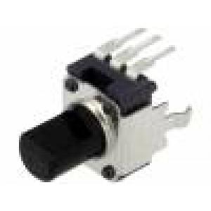 Potenciometr axiální jednootáčkový, stojatý 5kΩ ±20% 6mm