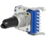 Potenciometr axiální jednootáčkový 50kΩ 50mW ±20% 6mm