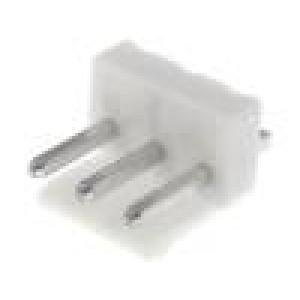 Zásuvka kabel-pl.spoj vidlice 3 PIN 3,96mm THT VH 250V 10A