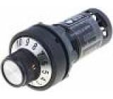 Potenciometr 22mm IP65 -25÷70°C Ø22,5mm 4÷20mA
