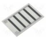 Rezistor na pásce topný lepením 14,4Ω 40W Výv: pájecí body