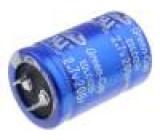 Kondenzátor elektrolytický záložní, superkondenzátor SNAP-IN