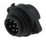 Konektor kulatý zásuvka vidlice Řada: ECOMATE (C016) PIN:7