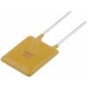 Pojistka polymerová PTC 3A 11,4x17,3mm Rozteč:5mm