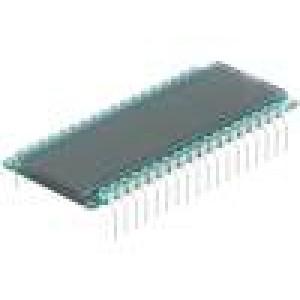 Zobrazovač: LCD číslicový STN Positive Poč.dig:8 52x22x1,1mm
