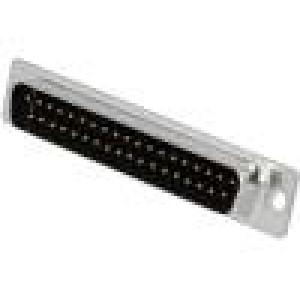 Zástrčka D-Sub PIN:37 vidlice lisované kontakty pájení